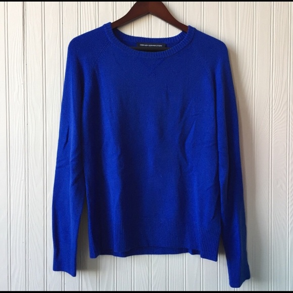 FRENCH CONNECTION Royal Blue Sweater